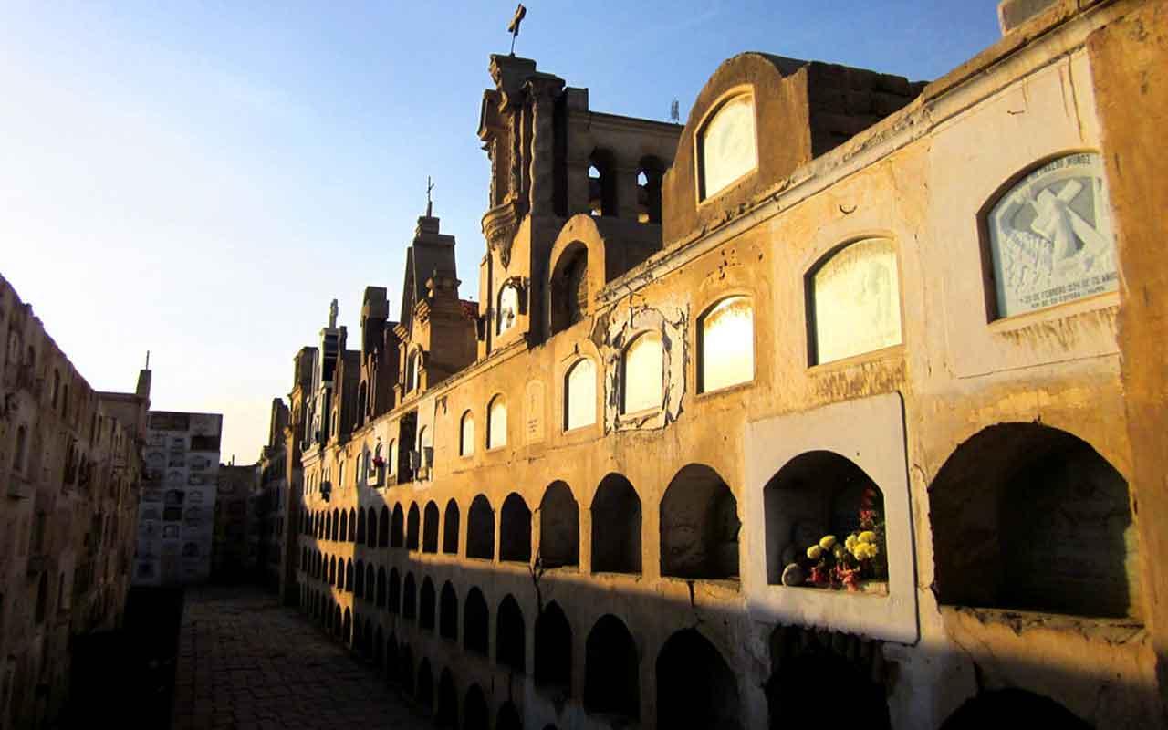 tanatorio en San Mamés de Burgos